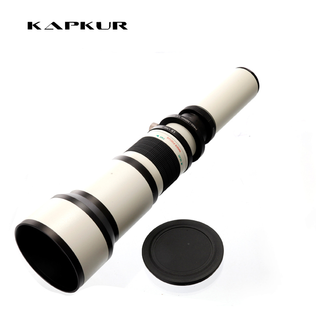 Bower 650-1300mm Lenses for Canon EOS DSLR Camera фото