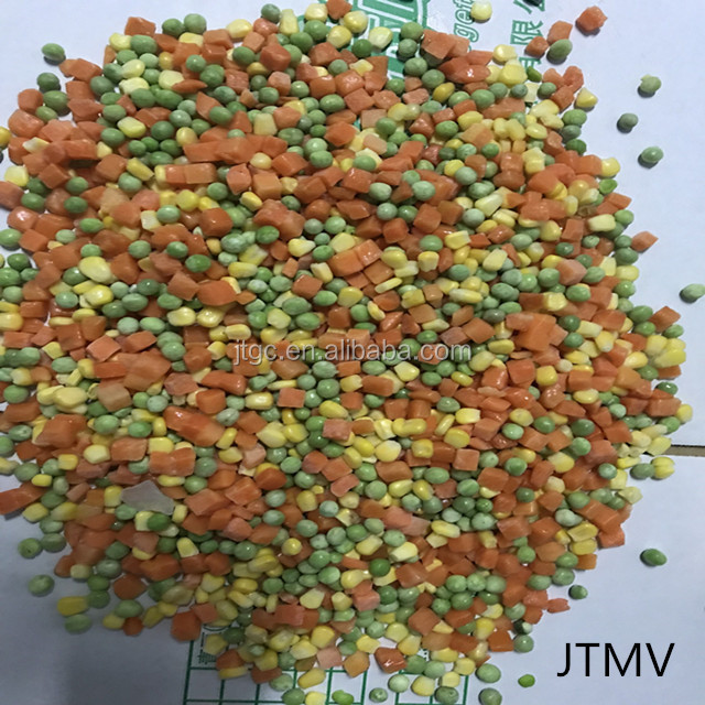 IQF mix vegetables / Frozen California Mixed Vegetable JTMV