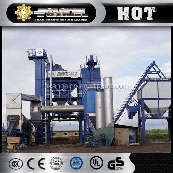 Machines and equipments ROADY RD175 175t/h asphalt plant price