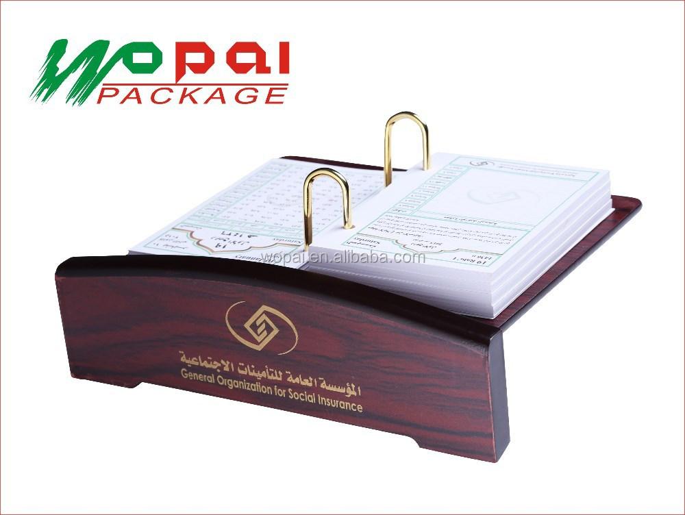 Arabia saudita agenda de escritorio de oficina de madera for Agendas de oficina