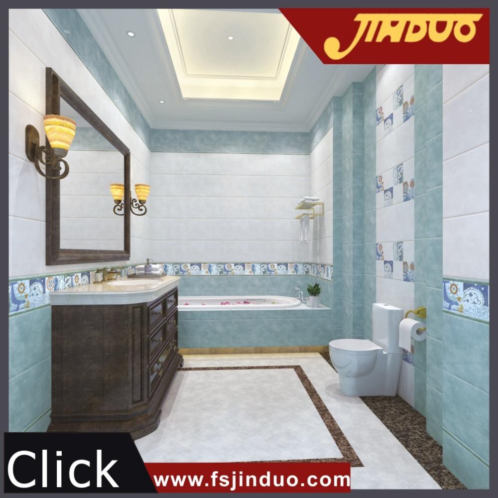 300x600mm Guangzhou fabriek keramische decor tegels voor badkamer ...