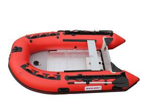SAILSKI CE approved 2.7m/3m/3.3m/3.6m/3.8m/4.3m/4.7m/5m/5.5m inflatable boat with aluminum floor.