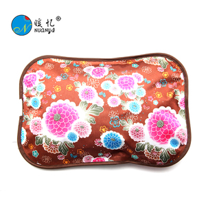 zhejiang cixi rechargeable electric hot water bag /hand warmer ,pillow shape hot water bottle with CE&ROHS certification