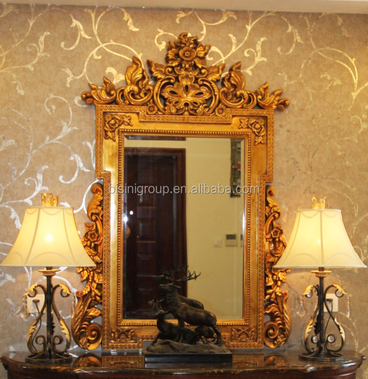 Art Nouveau Angel Wall Mirror Home Decor Vintage Style Wall Hanging