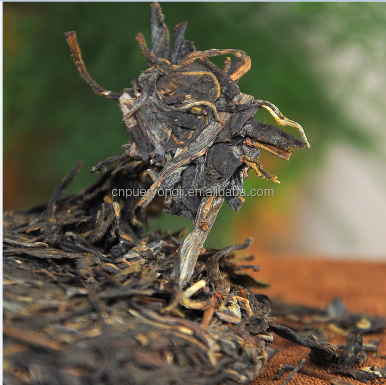 100% Natural Effective Microorganisms Organic Pure Jasmine Puerh Tea Cake Colon Cleanse Tea