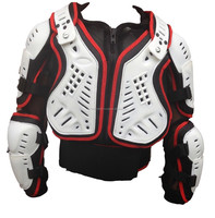 Childrens Sports Body Armour Protective Jacket With Back Protector