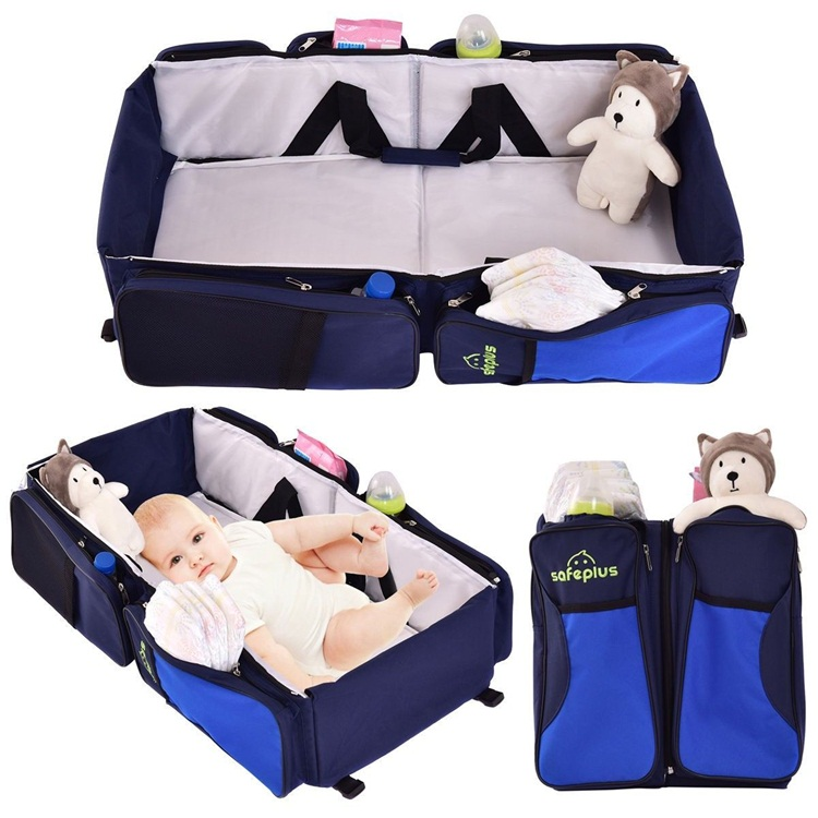 Lightweight Portable Foldable Baby Bag Travel Infant Bed