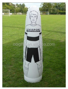 PVC inflatable training dummy for football and soccer