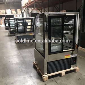 Best selling bakery display cake refrigerated cabinet