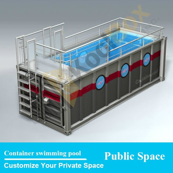 koolbox mobile container piscine conception tanche portable piscine vendre maisons. Black Bedroom Furniture Sets. Home Design Ideas