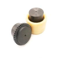 flexible mechanical nylon sleeve gear coupling