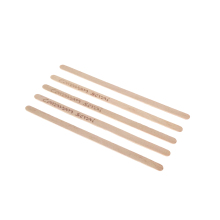 Wholesale Eco-friendly Disposable Wood Stir Wooden Coffee Stick Stirrer