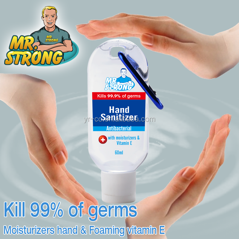hand sanitizer gel with free design artwork