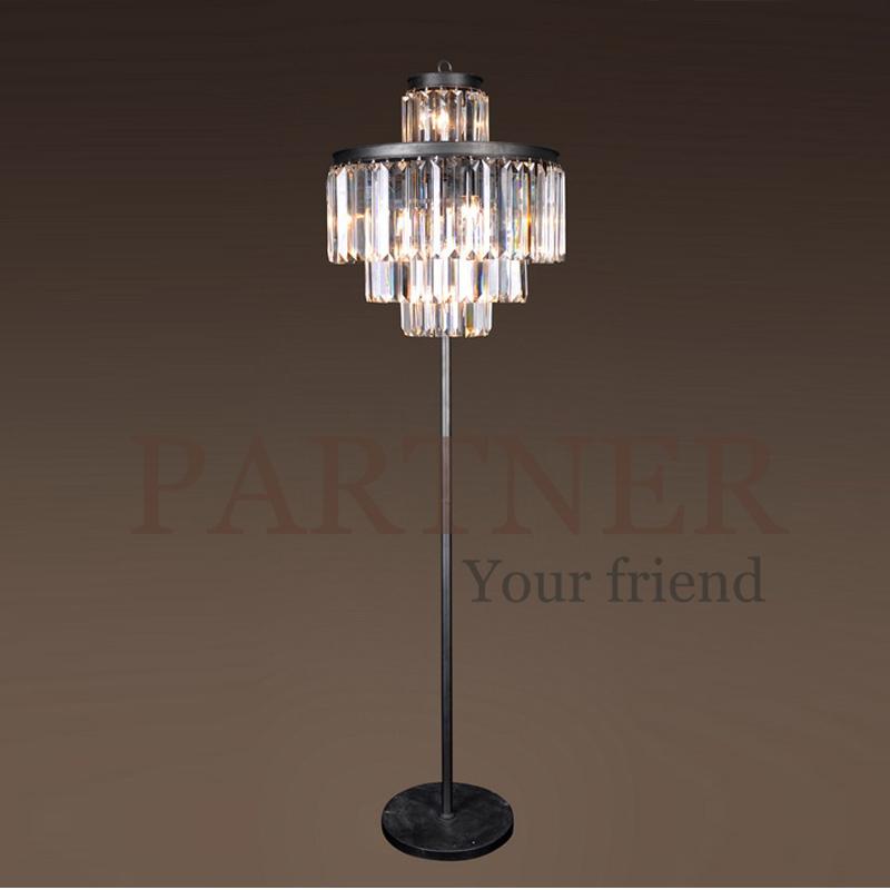 nordic american country dining room table lamp crystal floor lamp loft industrial villa retro. Black Bedroom Furniture Sets. Home Design Ideas
