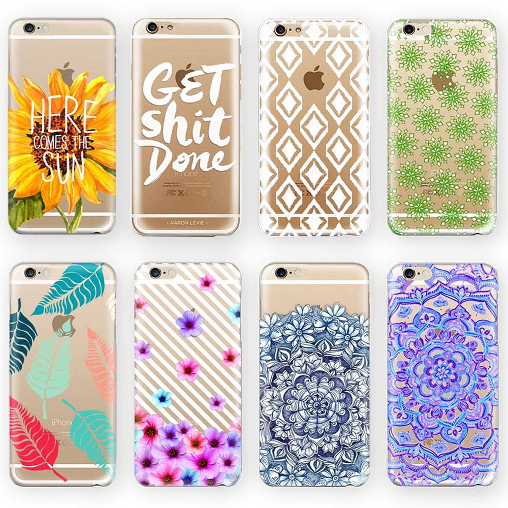 Phone cases for apple iphone 6 6 plus case transparent for Case design