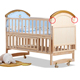 Solid wood baby crib / baby cot / infant bed WBB