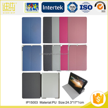 For ipad 2 3 4 mini Hot selling manufacturer covers pro PU leather bags tablet cases
