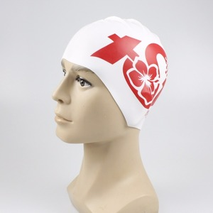 55g Best logo designers Reversible Sport swimming cap