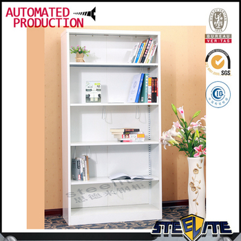 Specific Use European Style Steel Tube Bookcase File Holder Bookshelf