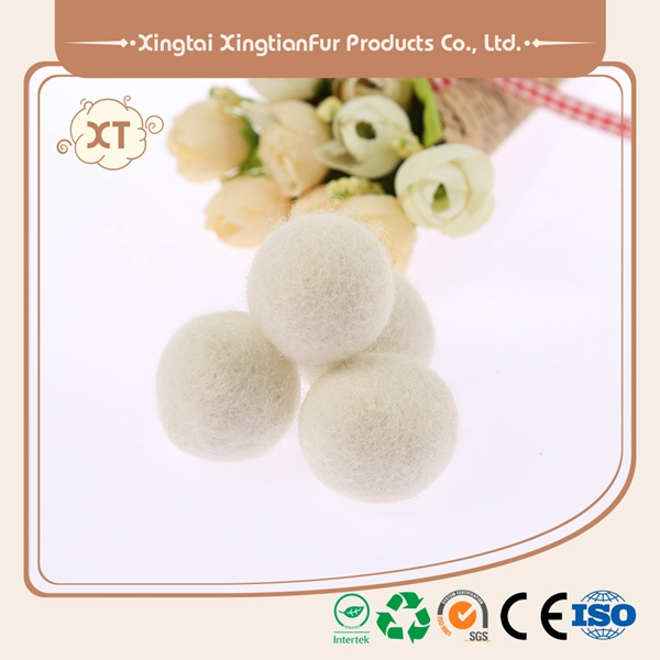 high-density100% New Zealand handmade Wool Colorful Dryer Balls customized wool washer dryer ball