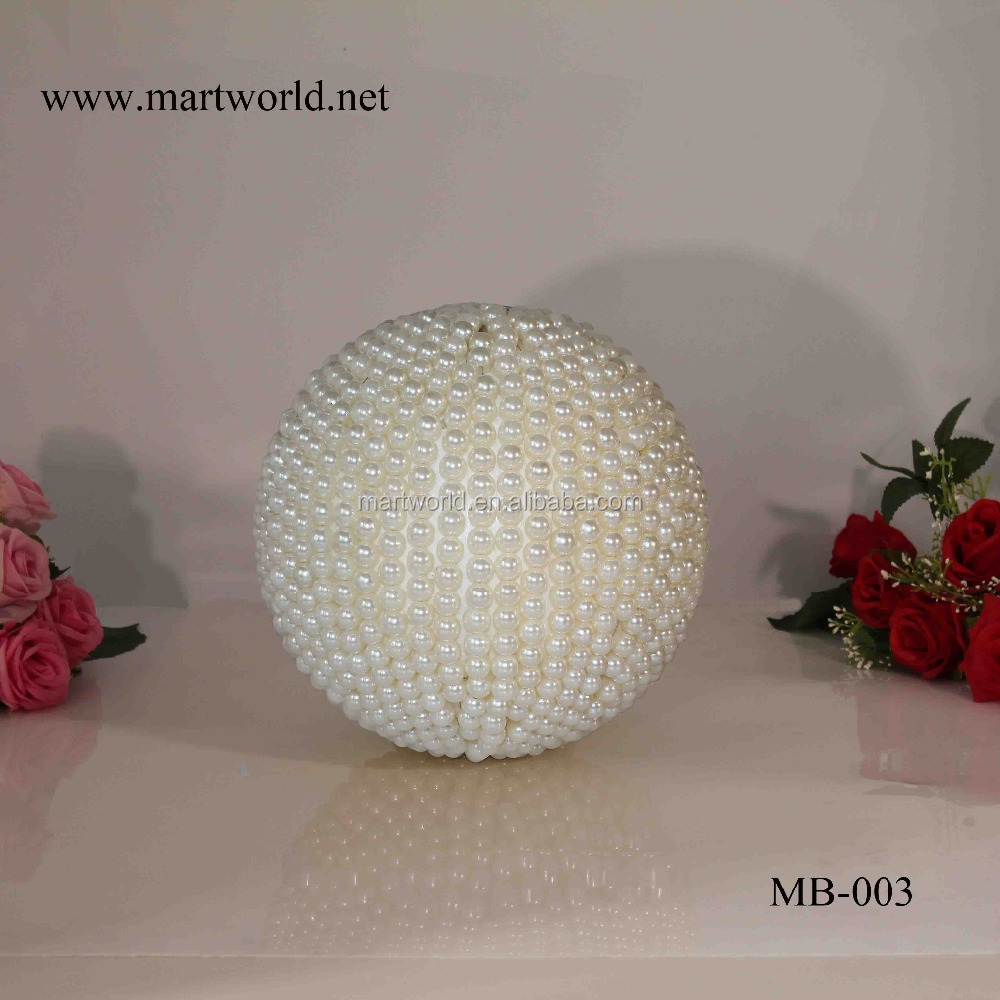 2020 Hot koop ronde vorm mooie parel bal bruiloft decoratie materialen party decoratie bruiloft (MB-003)