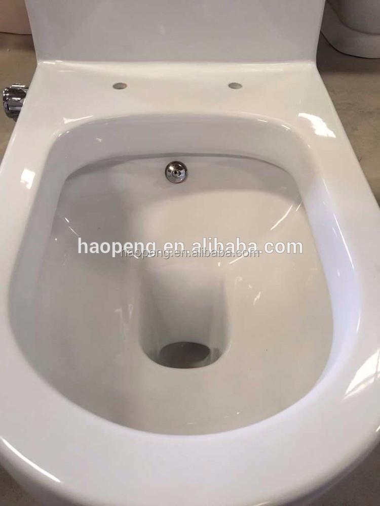 Bathroom Wc Washdown One Piece Blue Bidet Toilet Buy Blue Toilet