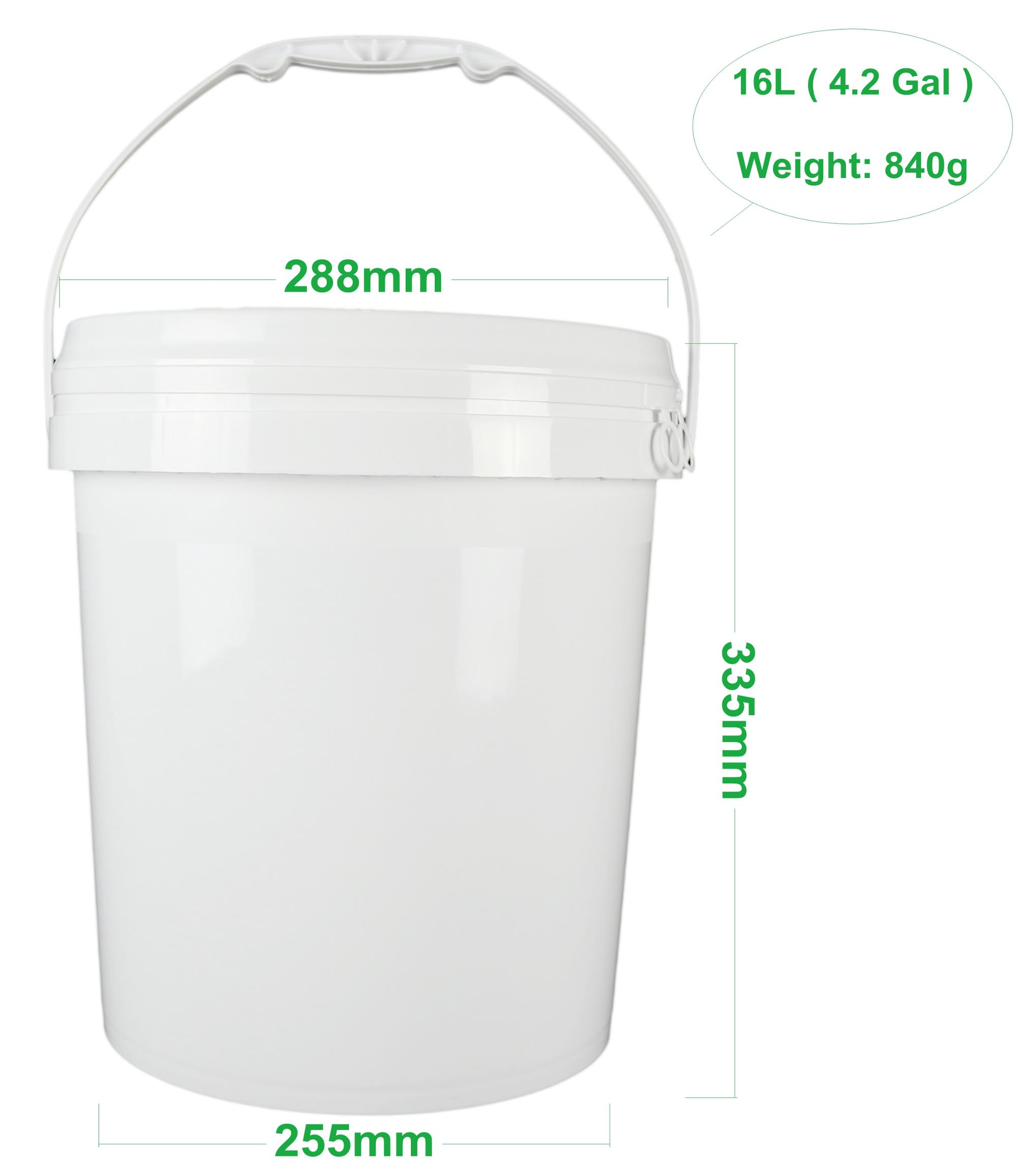 16 liter plastic empty paint buckets for sale - buy empty paint buckets for  sale,paint buckets,plastic paint buckets product on alibaba