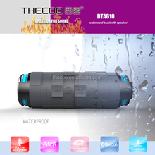 Top sale portable wireles audio speaker system combining Blue tooth, Lithium Ion Battery & Waterproof Technologies