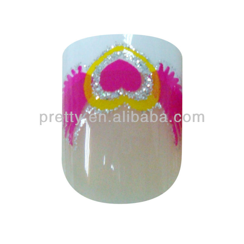 False Nail Dress Perfect Nail Art for Natural Fingernail