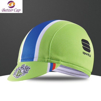2017 fashion design silk screen printing mesh fabric custom sports cycling  caps 5a610318851