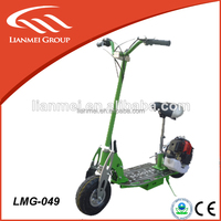 CE certificate gas scooter stand up scooter with 2 stroke engine for kids