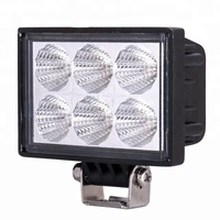 EXW PRICE! 24V /12V 18W LED work light(JF-618) Led offroad driving light auto accessory used car parts guangzhou led lights