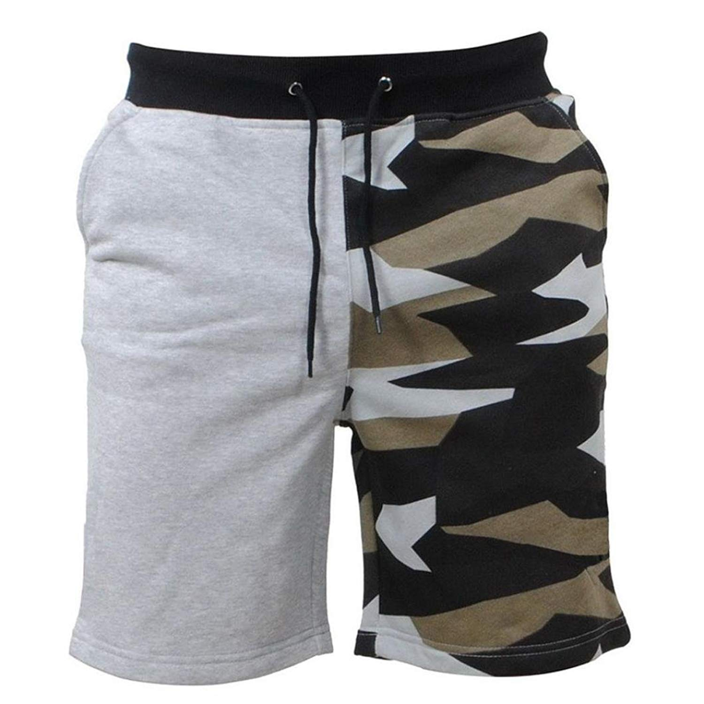 Mikkar Mens Shorts Pants Camouflag Casual Pocket Beach Work Fashion Short Trouser