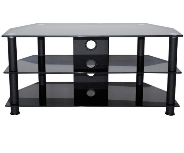 Glass tv stand china luxury living room furniture