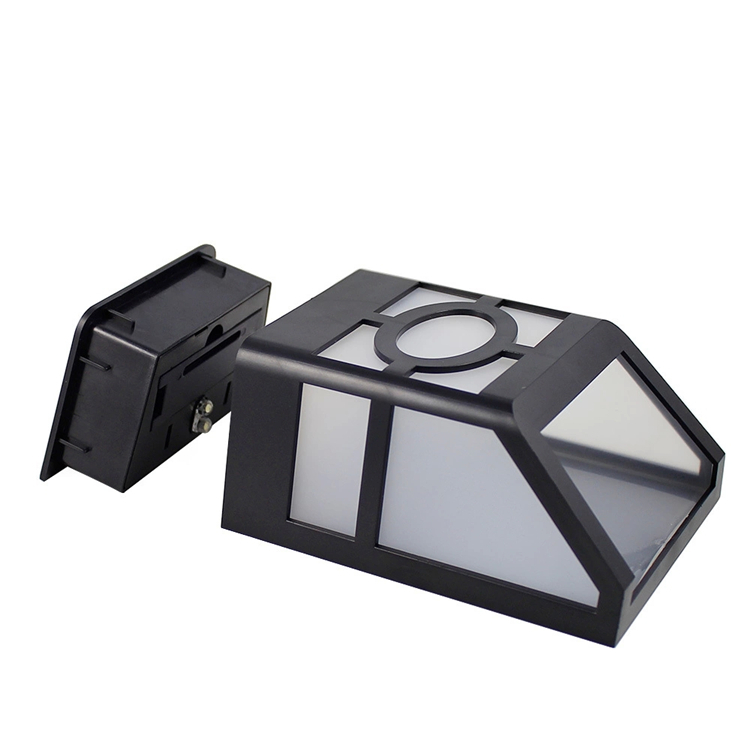 Solar Led Exterior Wall Light/wall Sconce High Lumen For