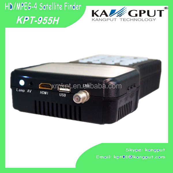 china Full <strong>HD</strong> <strong>FTA</strong> mpeg4 dvb-s dvb-s2 signal <strong>satellite</strong> <strong>receiver</strong> meter, digital satfinder KPT-955H