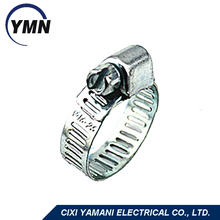 China manufacturer high quality galvanized steel taiwan hose clamp