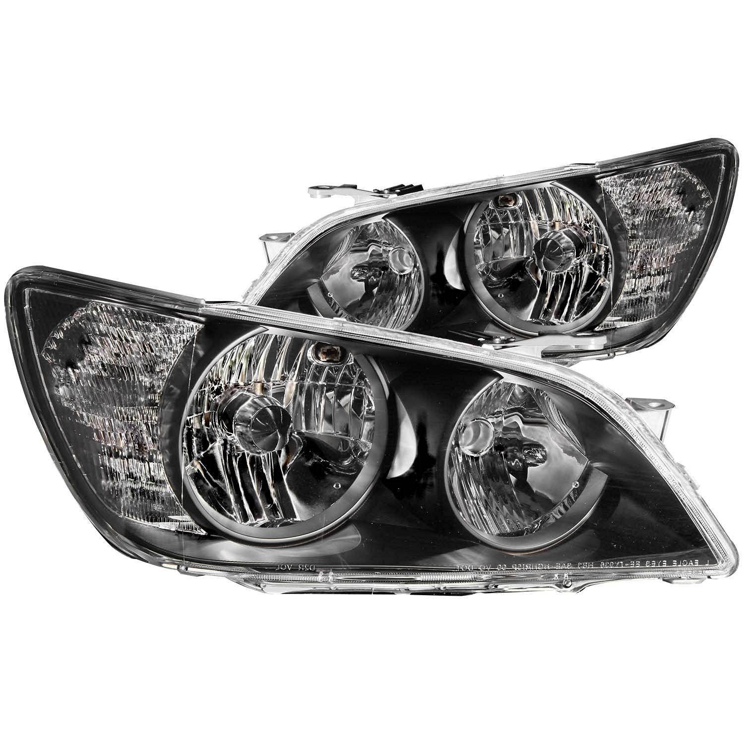Get Quotations · FRONT HEADLIGHT Lexus IS300 IS 300 2005 CRYSTAL BLACK