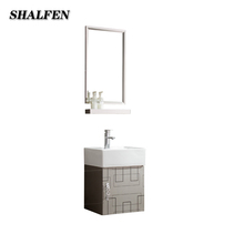 Small Size American Classic Waterproof Bathroom Cabinets