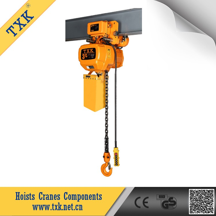 TXK electric chain hoist 3 ton