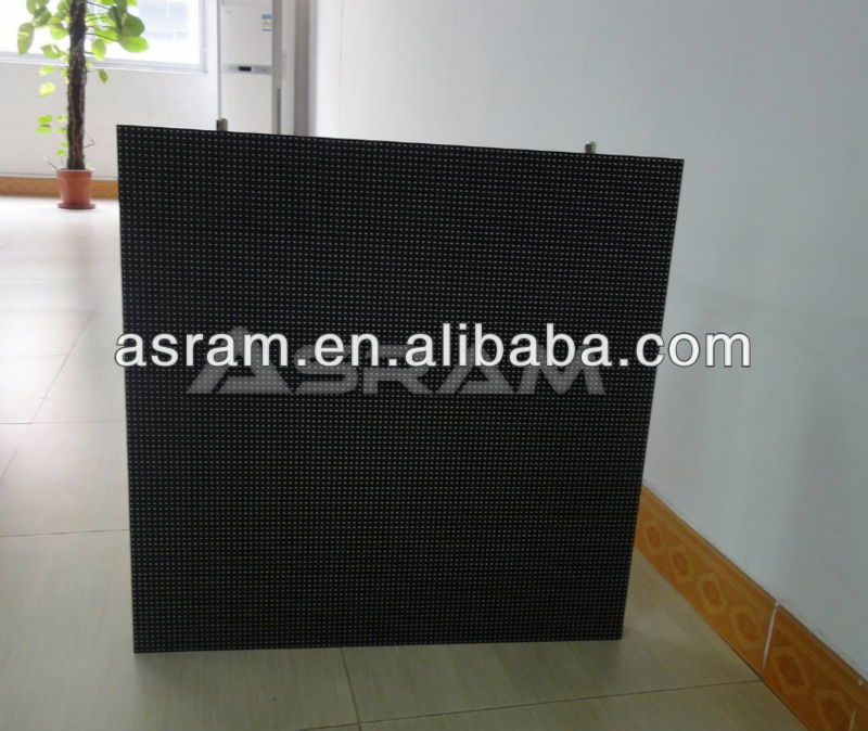 Asram p25 billboard led screen Die-casting cabinet !!! China new product high invention RGB full color outdoor led display scree