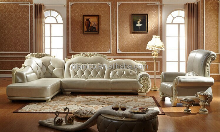 Elegant Design Leather Corner Sofa For Living Room,Noble Chesterfield Sofa  And Chaise Lounge(bf01-x1042) - Buy Latest Corner Sofa Design,Chesterfield  ...
