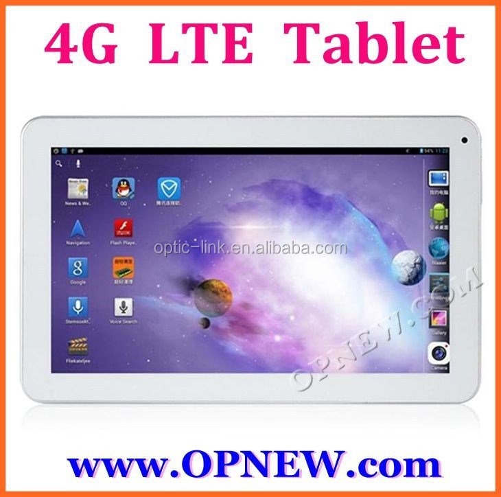 NEW 10 inch 4G high end tablet pc 4G FDD LTE phablet Retina IPS Dual Sim slot CPU 1.7G due for all world OEM from OPNEW