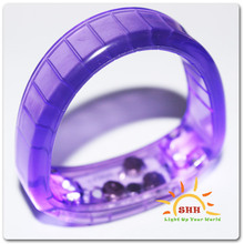 Cool LED flashing bracelets New Year party favor Shenzhen
