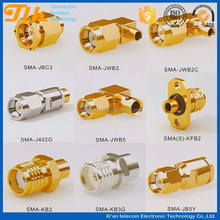 The customized male and female dc power connector for ribboin cable with 5/16-32UNS-2A