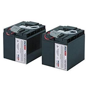 Compatible Replacement by UPSBatteryCenter New Battery Set for APC Smart UPS 2200 Rack Mount 3U SU2200RM3U SU2200RM3U