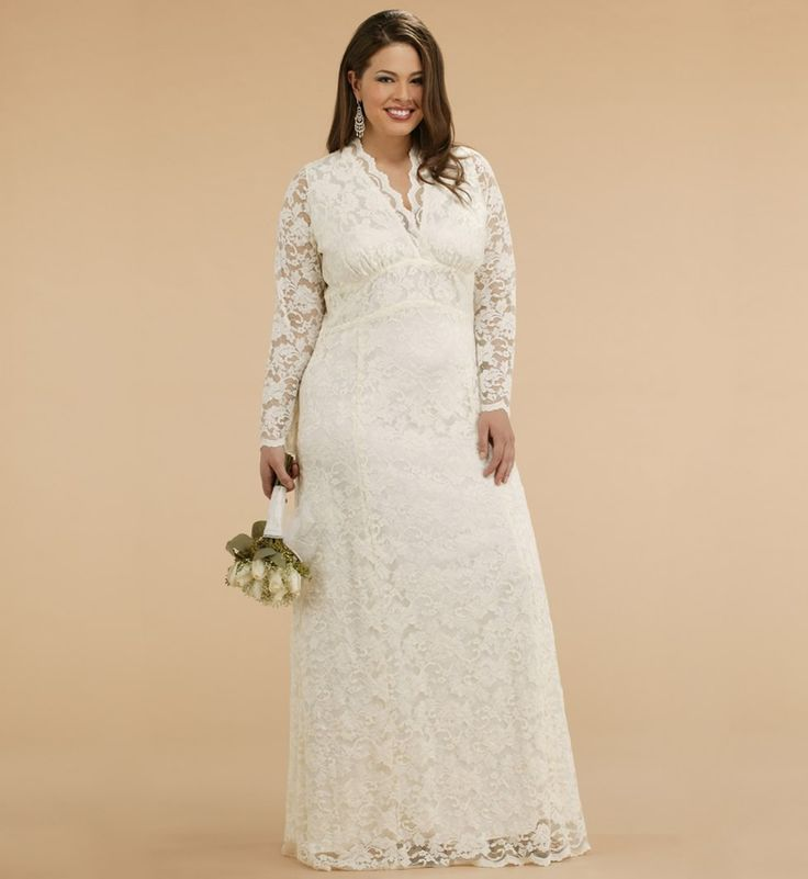 2015 Custom Made Top Income Lace Plus Size For Pregnant
