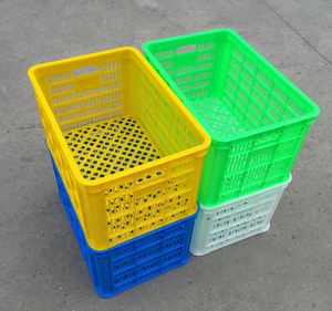 Plastic crate box for fruit Circulation basket Turnover and vegetable
