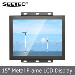 15 inch lcd monitor industrial control HDMI input big touch screen for custom design