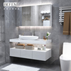 Good sale chaozhou custom made full set bathroom cabinet for home hotel